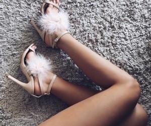 beautiful, heels, and girl image