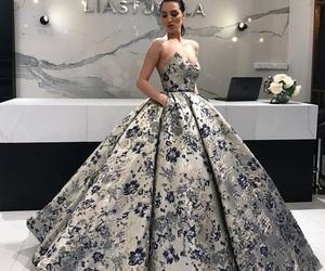 fashion week, prom dress, and fashion world image