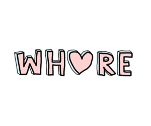 whore, grunge, and quotes image