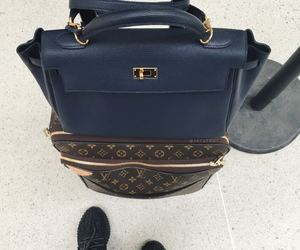 bags, fashion, and hermes image