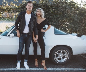 costume, grease, and cutestcouple image