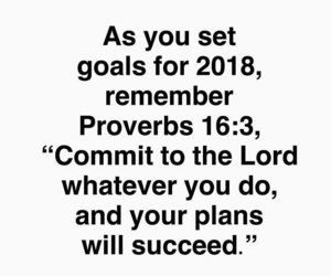 goals, bible verse, and motivation image