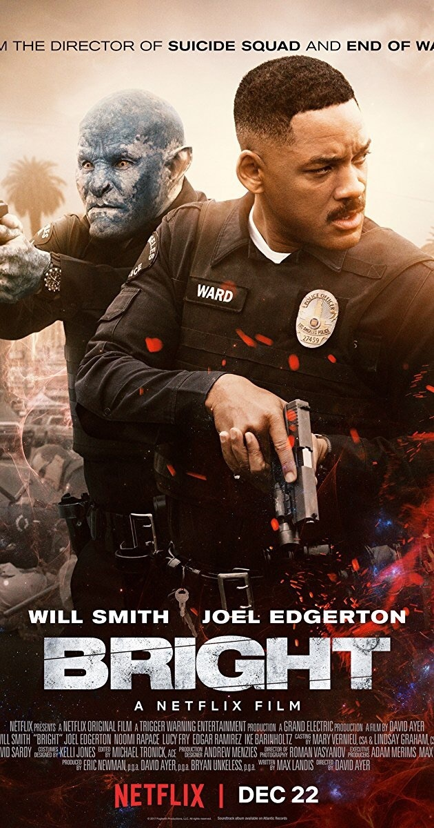 bright, movie, and will smith image