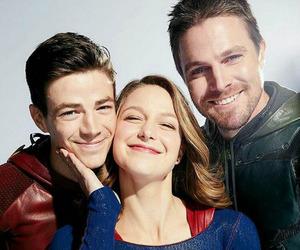 Supergirl, arrow, and melissa benoist image