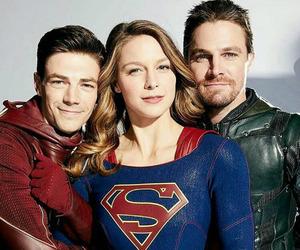 Supergirl, melissa benoist, and arrow image
