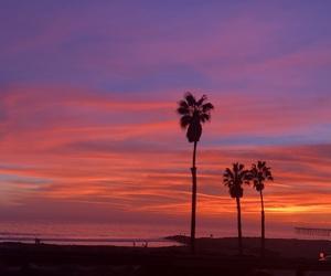 beach, highway, and beautiful image