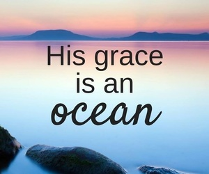 god, grace, and ocean image