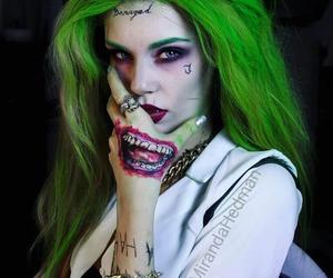 joker, cosplay, and Halloween image
