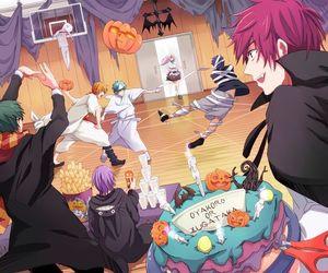 kuroko no basket, Halloween, and anime image