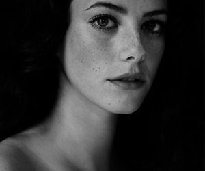 KAYA SCODELARIO, skin, and black and white image
