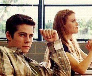 teen wolf, black and white, and stiles image