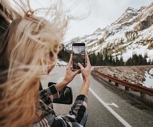 girl, photography, and travel image