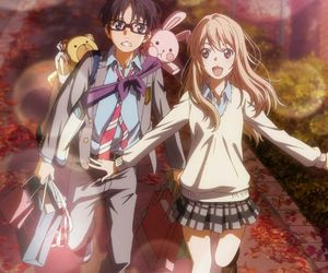 anime, shoujo, and your lie in april image