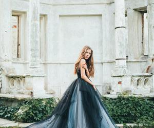 angels, princess, and wedding dress image