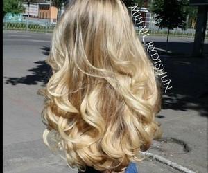 blonde, barbie, and hair image