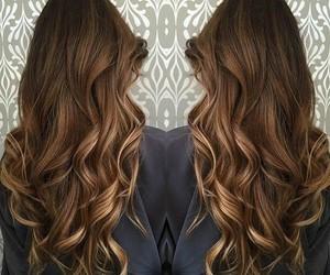 hair and wavy image