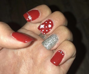 christmas, nailart, and nails image