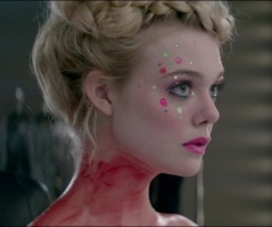 Elle Fanning, jena malone, and the neon demon image