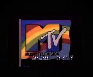 grunge, mtv, and rainbow image