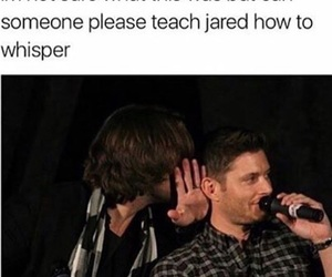supernatural and jared image