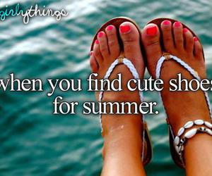 summer, cute, and shoes image