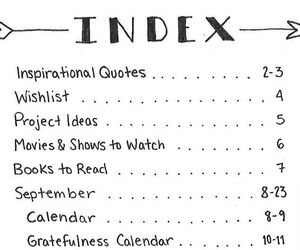 ideas, index, and study image