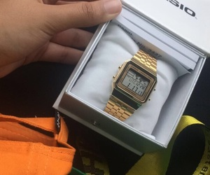 adidas, casio, and gold image