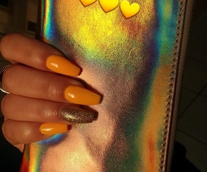 glitter, inspirations, and nails image