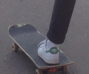 aesthetic, shoes, and skate image