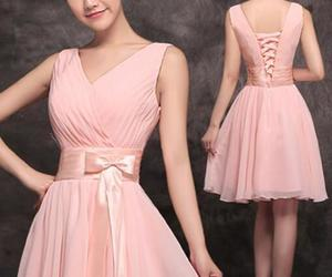 prom dress and cute dress, prom image
