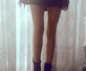 legs, skinny, and thinspo image