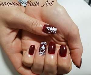 christmas, christmas mood, and christmas nail art image