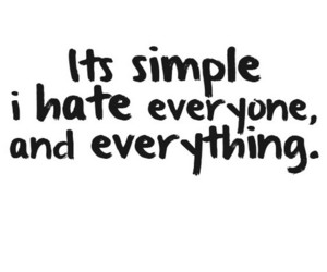 quotes, hate, and everyone image
