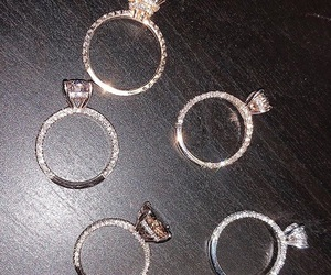 love, diamond, and ring image