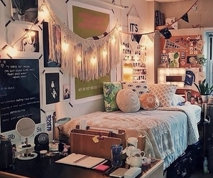 bedroom, home, and lovely image