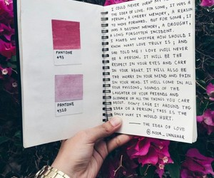 pink, quote, and love image
