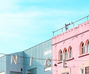 pink, aesthetic, and teal image