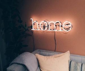 home, light, and neon image