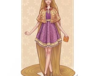 disney, rapunzel, and princess image