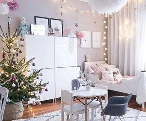 beautiful, christmas tree, and comfortable image