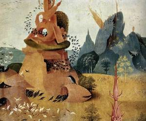 painting, art detail, and hieronymus bosch image