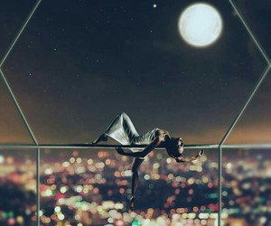 acrobatic, lights, and night image