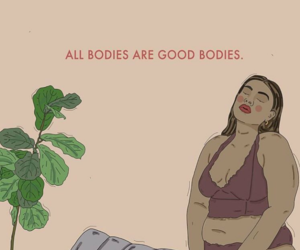 body, quotes, and empowerment image
