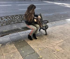 bag, street, and xmas image