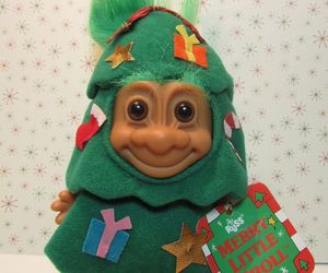 christmas, toy, and troll image
