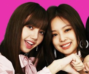 lisa, pink, and loves image