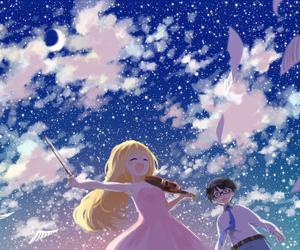 anime, shigatsu wa kimi no uso, and arima kousei image