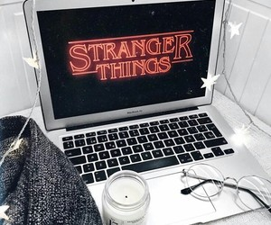 80s, tech, and stranger things image
