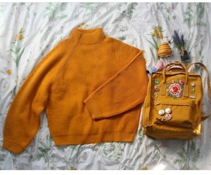 orange, fashion, and yellow image