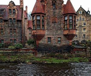 adventure, house, and edinburgh image